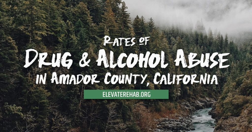 Rates Of Drug And Alcohol Abuse In Amador County California
