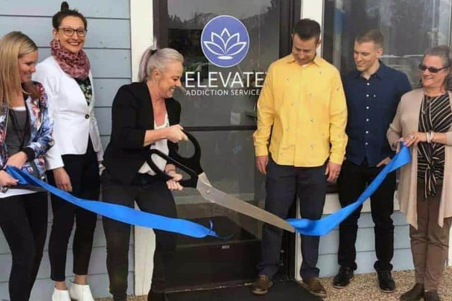 Elevate Addiction Services Lake Tahoe Grand Opening Ribbon Cutting