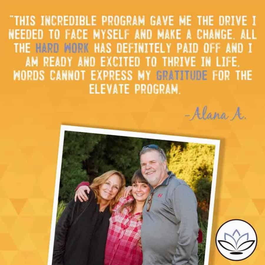 Elevate Addiction Services Success Story Alana A