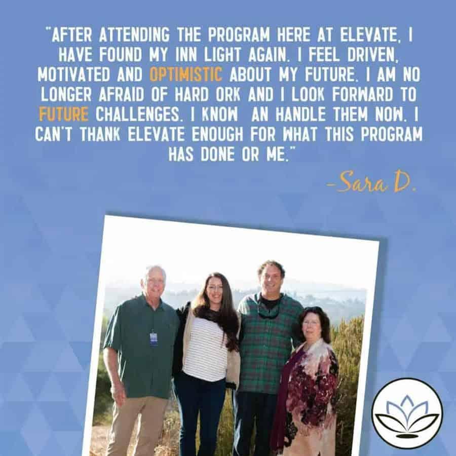 Elevate Addiction Services Success Story Sarah D