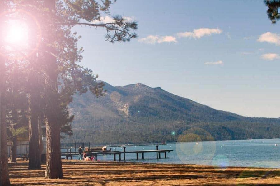 Elevate Lake Tahoe Resevoir